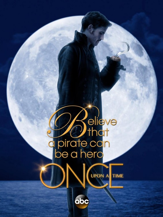 Once Upon a Time Hook poster