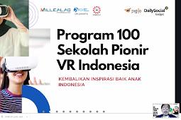 SMKN 1 XIII KOTO KAMPAR, 1 Dari 100 Sekolah Terpilih Untuk Program Virtual Reality (VR) Millealab Batch 1