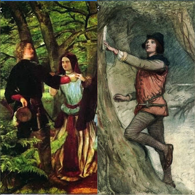 Once Orlando reaches the forest of Arden, there are found some magnificent changes in the character of Orlando.