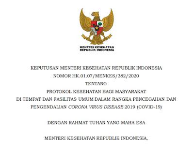 surat protokol kesehatan wisata