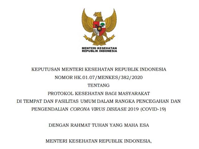 Ini Protokol Kesehatan Sektor Pariwisata Melalui Keputusan Menteri Kesehatan