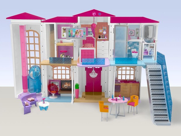 O lado de c casas da barbie - Supercasa de barbie ...