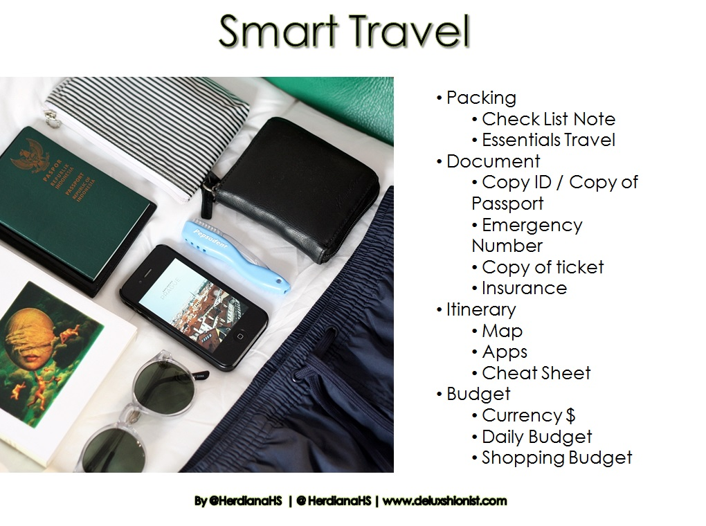 HOW TO SMART TRAVELING IN STYLE