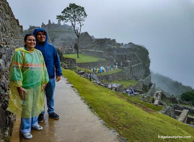 """Machu Picchu vista do """"setor nobre"""""""