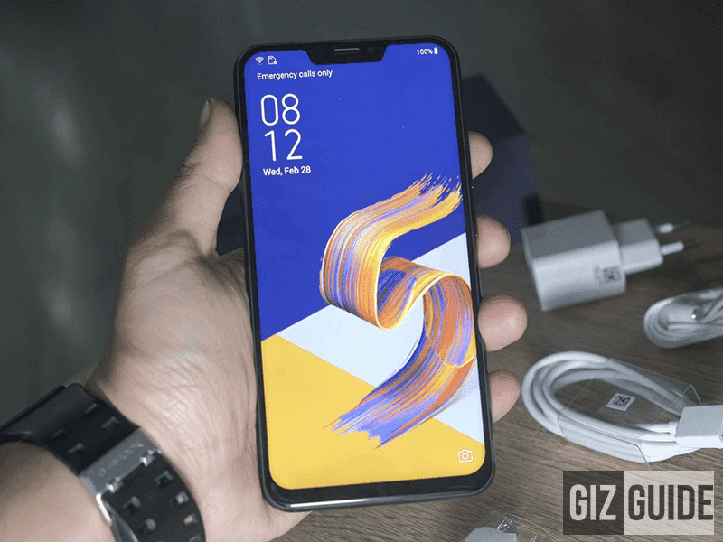 ASUS updates the camera of ZenFone 5Z