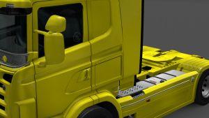 Side window stickers Scania RJL