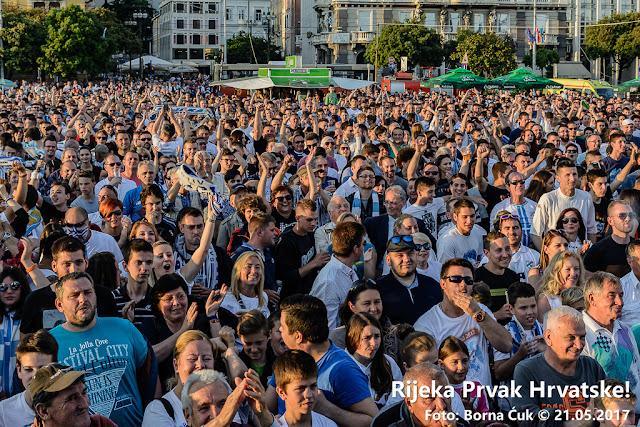 Rijeka-Cibalia 4:0 @ Rijeka prvak Hrvatske 21.05.2017