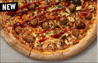 Papa John's Festive Pizza From 2019