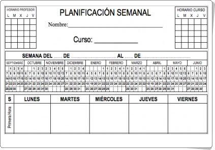 http://www.orientacionandujar.es/2015/08/26/planificador-semanal-para-profesores-primaria-y-secundaria-y-otros-divertidos-para-alumnos/