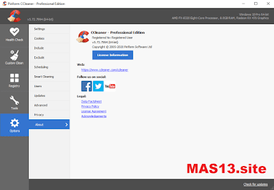 Download CCleaner Pro 5.72 Final Terbaru Full Patch