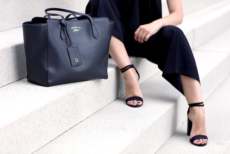 Gucci Swing Tote Zara Culotte Sandals