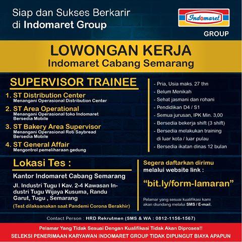 Lowongan Kerja Indomaret Cabang Semarang Loker Jawa