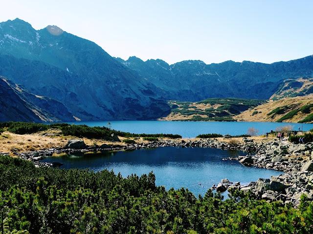 Dolina Pięciu Stawów szlak z Palenicy Białczańskiej