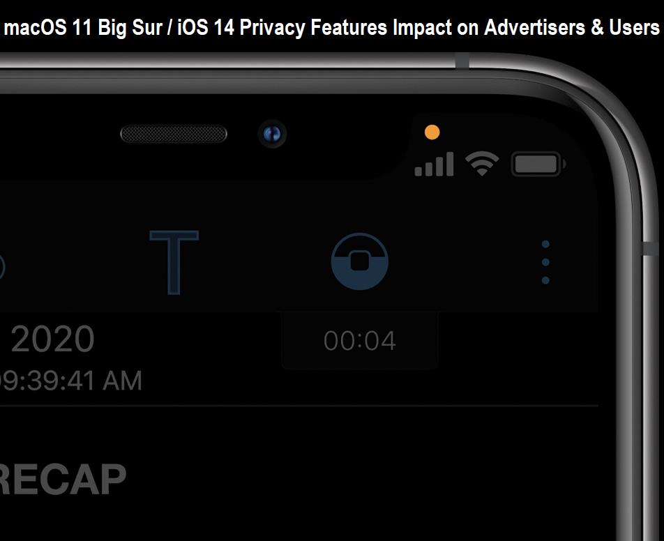 macOS 11 Big Sur & iOS 14 Privacy Features