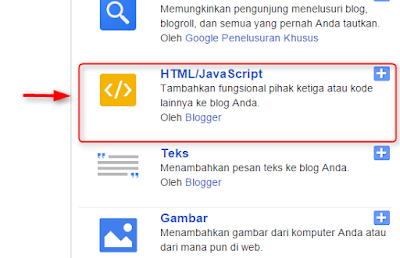 memasang follow button di sidebar blog