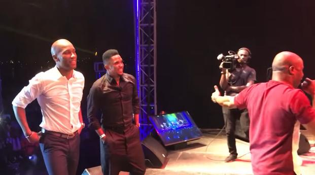 Vidéo - Côte d'Ivoire: Eto'o et Drogba mettent le feu lors d'un concert des Magic System