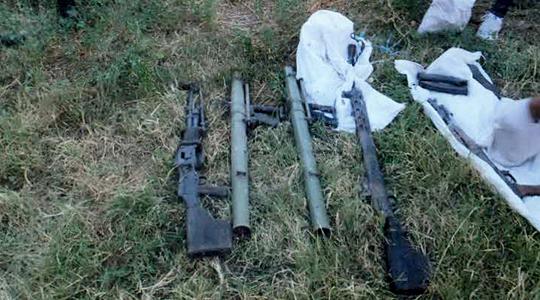 Weapons, ammunition found near village Blace