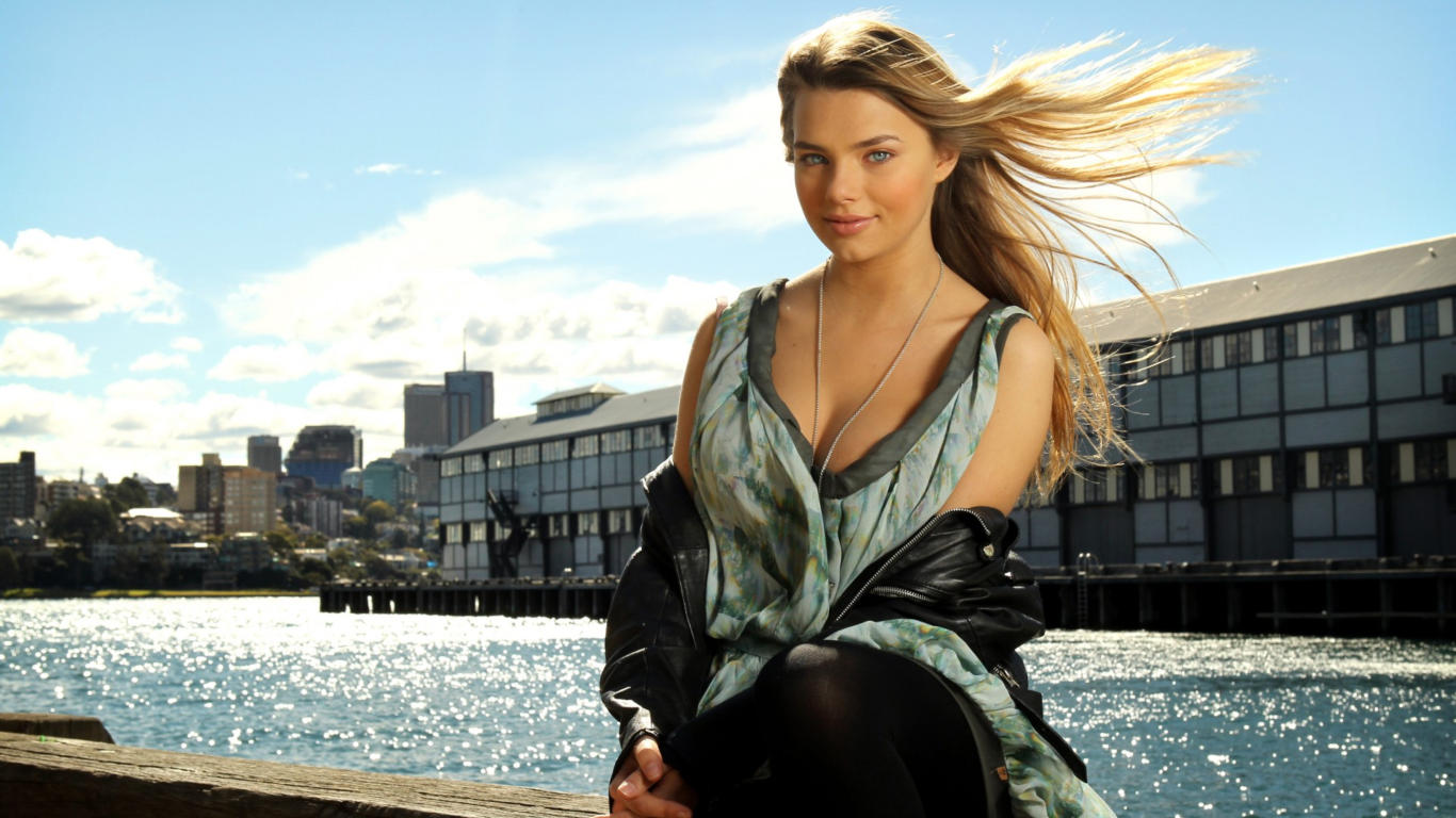 Indiana Evans Latest Hot Wallpaper