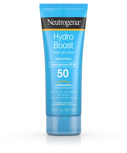 Neutrogena Hydro Boost Gel Moisturizing Sunscreen Lotion - SPF 50