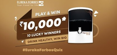 Amazon Eureka Forbes Quiz Answers
