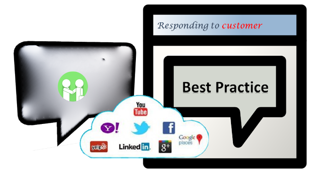 How to respond to a customer the appropraite way on social media