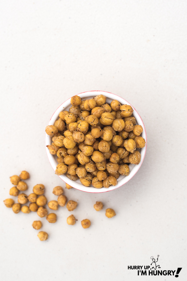Crunchy chickpeas - how to cook chickpeas in the oven that are crispy