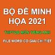 [NEW] Bộ đề minh họa THPT QG 2021 môn Tiếng Anh có giải chi tiết (File word)
