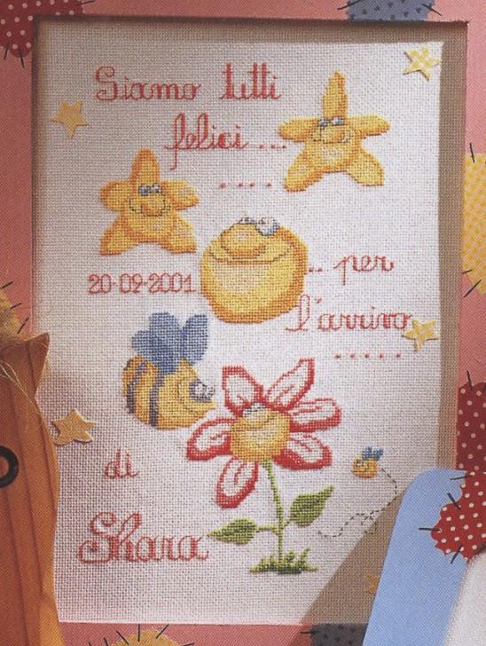 spesso Le chiacchere di Simo ricamo, maglia, uncinetto e cucito  FT66