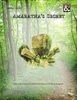 Cover of BMILL 01-03 Amaratha's Secret