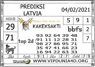 Prediksi Togel LATVIA DUNIA4D 04 FEBRUARI 2021