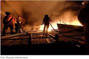 Jelang Subuh, Gedung Kementerian Sosial RI Terbakar