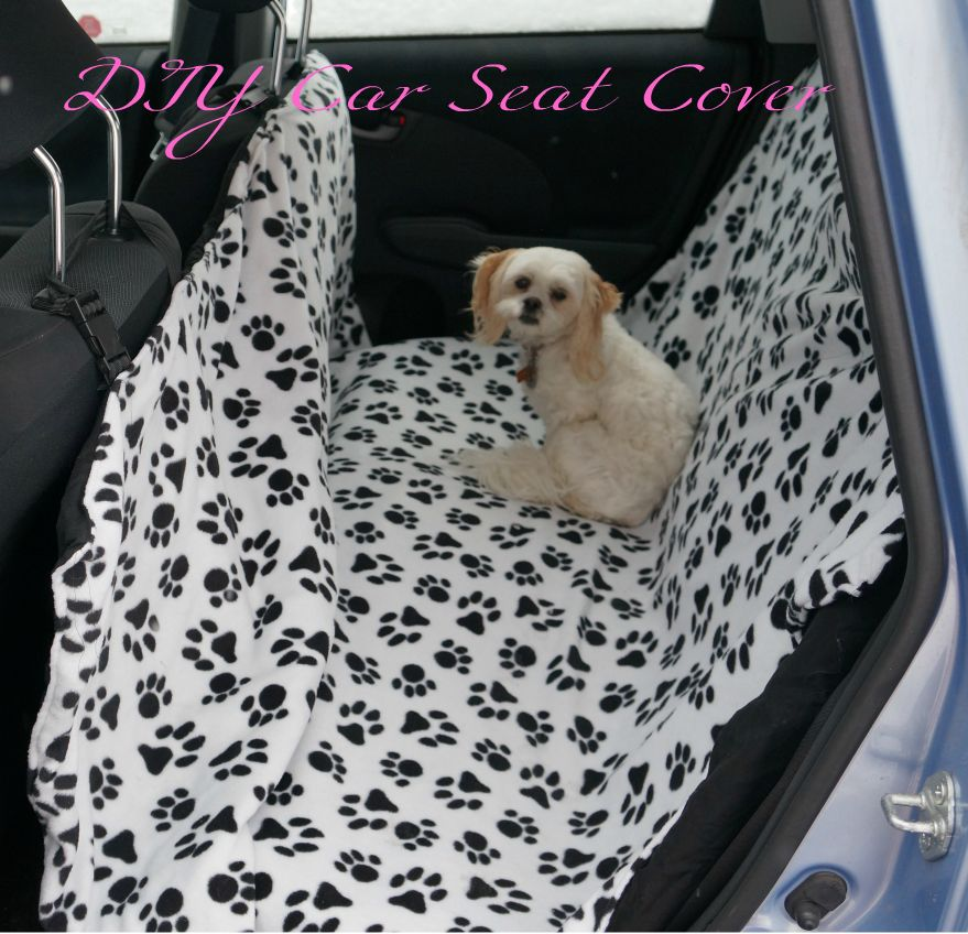 House Home Puppies Diy Dog Car Seat Cover