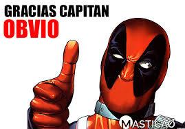 Gracias capitan Obvio