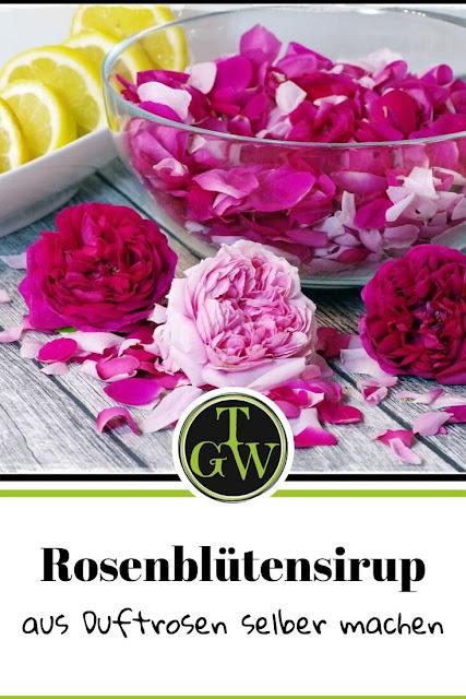 Rosenblütensirup selber machen #rosenblütensirup #selbermachen #duftroseninderkücheverwenden #duftroseninderküche #sirup #rosenfürdieküche -Foodblog Topfgartenwelt