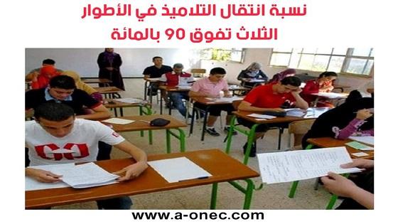 نتائج وعلامات وكشوف نقاط التلاميذ - وزارة التربية الوطنية