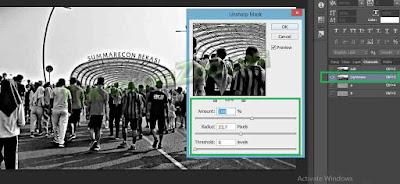 cara membuat gambar jelas di photoshop