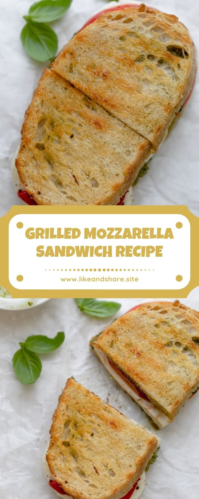 GRILLED MOZZARELLA SANDWICH RECIPE