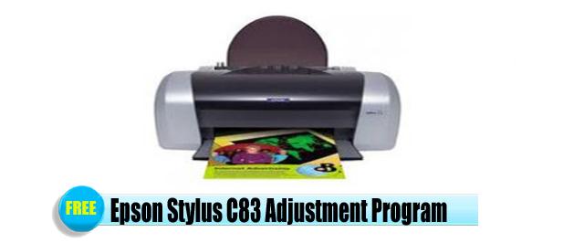 Epson Stylus C83 Adjustment Program