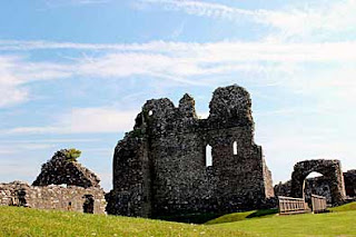 Ogmore Castle Main Entrance
