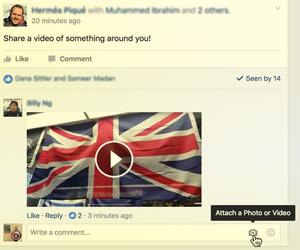 Fitur Baru Facebook Komentar video