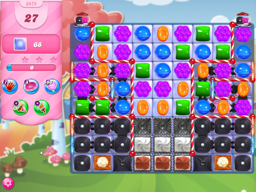 Candy Crush Saga level 3475