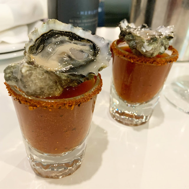 Fanny Bay Oyster Shooter