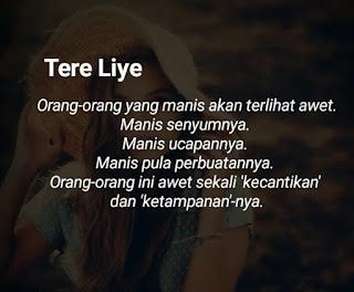 Kata-Kata Tere Liye