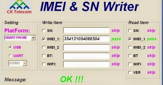 IMEI SN Write Tool Latest V2 1504 Free Download For Windows