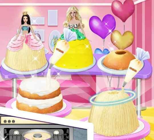 Game Princess cake cooking