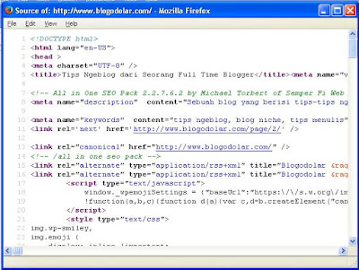 Mengetaui Theme Beserta Plugin Yang di Gunakan oleh Blog Orang Lain