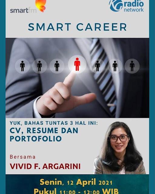 vivid f argarini smart career smart fm CV resume portfolio personal statement
