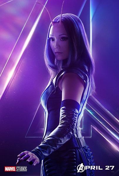 Avengers: Infinity War Mantis