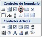 como crear control de numero excel