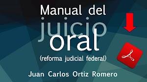 Manual del Juicio Oral de Juan Carlos Ortiz Romero PDF